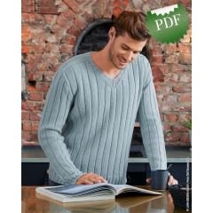 0013 • Описание Пуловер • Cool Wool Big