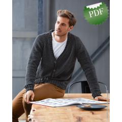 0015 • Описание Кардиган • Cool Wool Big