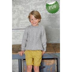 0016 • Описание Джемпер • Cool Wool Big
