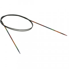 Круговые спицы Lana Grossa Разноцветное дерево 80см • 2,0