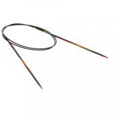 Круговые спицы Lana Grossa Разноцветное дерево 80см • 2,5