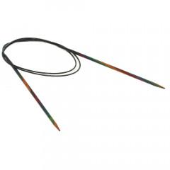Круговые спицы Lana Grossa Разноцветное дерево 80см • 3,0