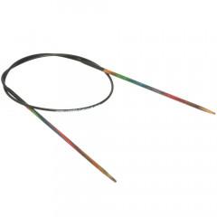 Круговые спицы Lana Grossa Разноцветное дерево 40см • 2,0