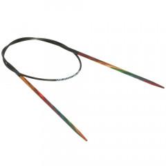 Круговые спицы Lana Grossa Разноцветное дерево 40см • 2,5