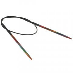 Круговые спицы Lana Grossa Разноцветное дерево 40см • 3,0
