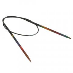Круговые спицы Lana Grossa Разноцветное дерево 40см • 3,5