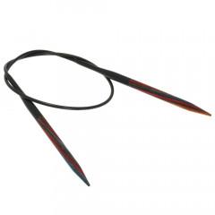 Круговые спицы Lana Grossa Разноцветное дерево 40см • 4,5